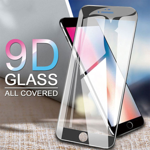 9D Full Glue Screen Protector For iPhone 8 Plus Tempered Glass For Iphone 7 Plus 6plus 8plus 7plus Protetive Glas On Iphon8 Film