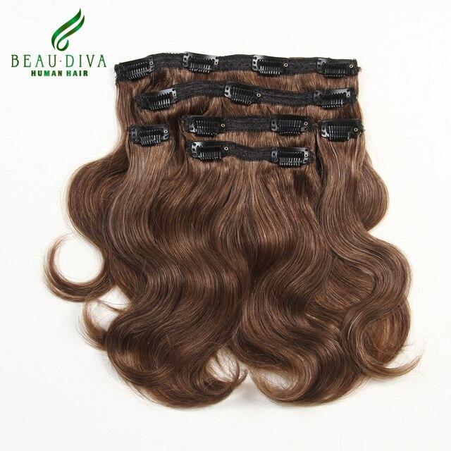 Top Hair Extensions Clip In 6 Piecesset Peruvian Virgin Hair Body