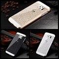Роскошные bling case коке etui Для samsung Galaxy Grand S3 S4 S5 mini S6 S7 Край G530 i9082 G360 A3 A7 A7 2016 J3 J5 J7 Назад Принципиально