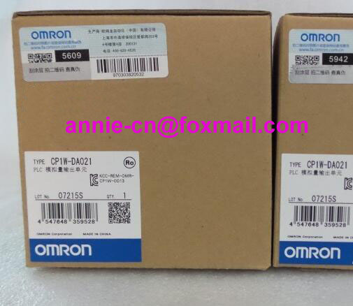 100% New and original  CP1W-DA021  OMRON PLC CONTROLLER  Analog output unit cp1w 16er new and original omron plc controller plc module