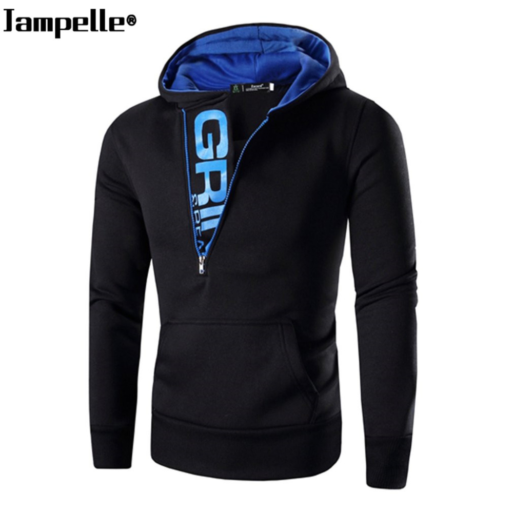 Brand Design Mens Hoodies Autumn Warmth Letter Printed Male Zipper Hooded Pullovers Jacket Casual Sportswear Creed Outwears