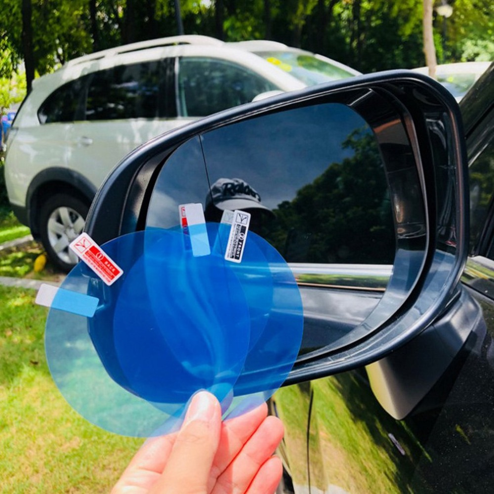 Rainproof Anti-fog Car Rearview Mirror Film Sticker Protective Film Rain Shield Side Window Ultra-clear Film