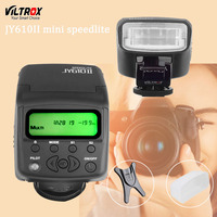 Viltrox JY610II Mini LCD Universal Flash Speedlite voor Sony A7 A7R NEX6 A6300 A3000 Canon Nikon Olympus Camera
