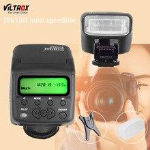 Viltrox JY610II Mini LCD Common Flash Speedlite for Sony A7 A7R NEX6 A6300 A3000 Canon Nikon Olympus Digital camera