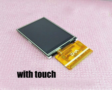 Free shipping 5pc/lot 2.4 TFT LCD screen module WIth touch 37pin 8/16bits Parallel 240*320 Color LCM ILI9341