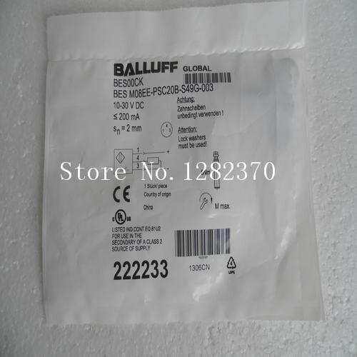 [SA] New BALLUFF sensor switch BES M08EE-PSC20B-S49G-003 spot --2PCS/LOT [sa] new original special sales balluff sensor switch bes m08mi psc20b s49g spot 2pcs lot