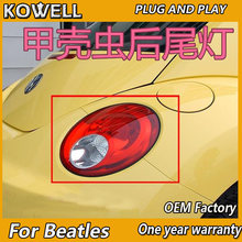 KOWELL Car Styling per VW Beatles 2006-2012 fanale posteriore VW Beatles Posteriore Della Lampada(China)