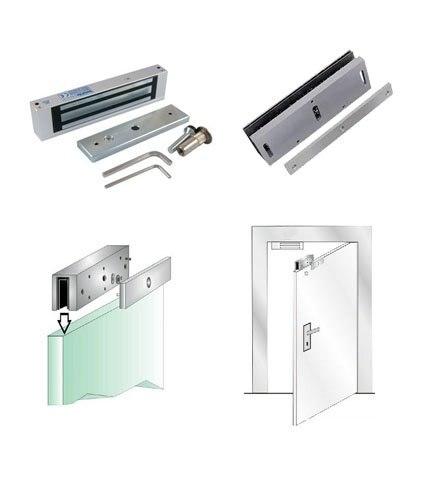 ФОТО Free shipping ,lock kit ,one 180kg(350lbs)+U shape bracket ,use for glass door, sn:kit-903s ,min:1 lot
