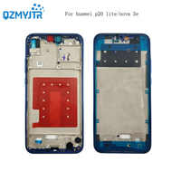 Replacement for Huawei P20 lite Middle Frame Housing For HUAWEI P20 lite nova 3E Rear Bezel Plate Chassis+Power Volume Button