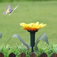 2018 Новый Творческий Вибрации Солнечной Энергии Танцы Летающие Развевающиеся Бабочки Колибри Сад