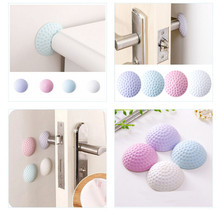 цены Baby safety rubber door handle to protect baby safety shock absorber handle bumper bumper baby crash pad wall protector 4 pieces