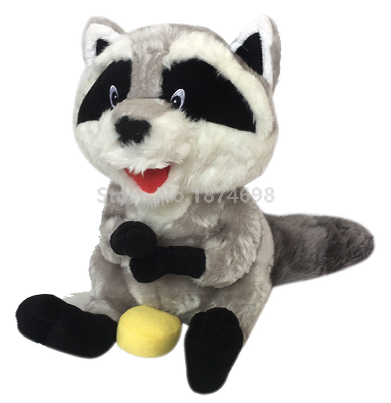 New Pocahontas Meeko Raccoon Plush Toy Doll 30cm Cute Stuffed Animals Pelucia Kids Baby Dolls Toys For Girls Gifts stuffed toy