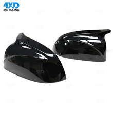 X3 G01 Gloss Black & White Mirror Cover For BMW X4 G02 X5 G05 Rear Side View Mirror Cover M Look type 1:1 Replacement 2018 2019 jackson js32 dka m dinky gloss white