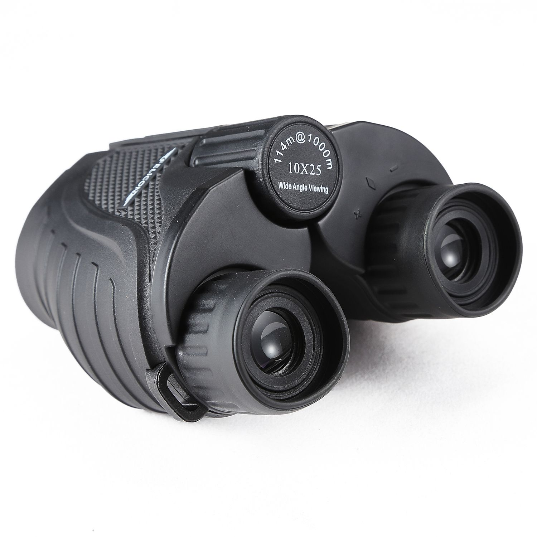 AYHF-FELICON FE-10X25 mini telescope, 10 times binoculars, 50-1000 meters effective, BAK4 prism, for Outdoor hunting