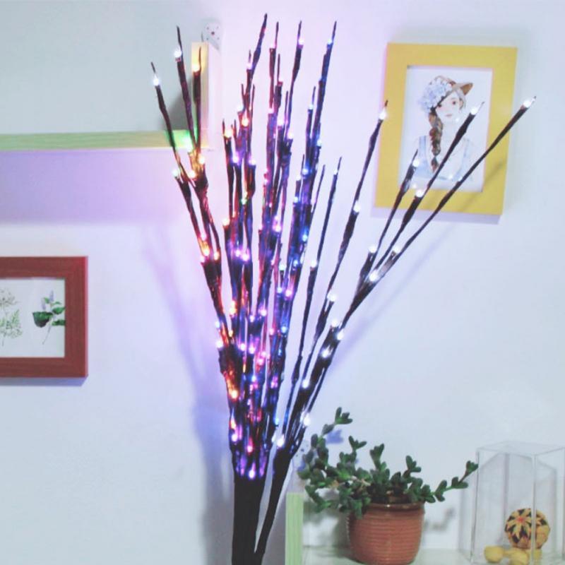 1 Set LED Decortive Light Twig Branch DIY foldable Lamp bra...