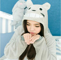 Casual 4 Styles Ladies' Home Wear Couple Jumpsuits Of Confession Cartoon Animal Panda Pikachu Totoro Adult Flannel Pajamas