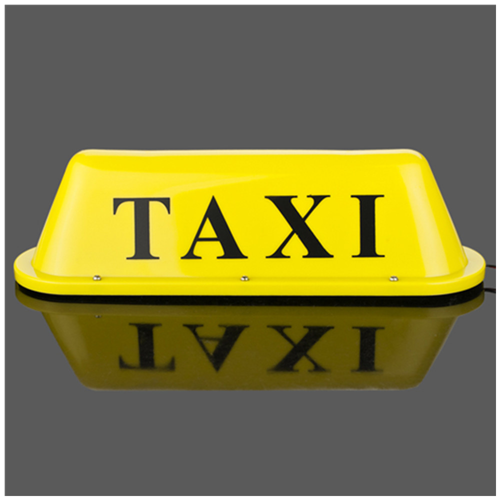 Car TAXI top lamp /yellow ceiling lamps /12V 20W double bulb taxi dome lamp waterproof