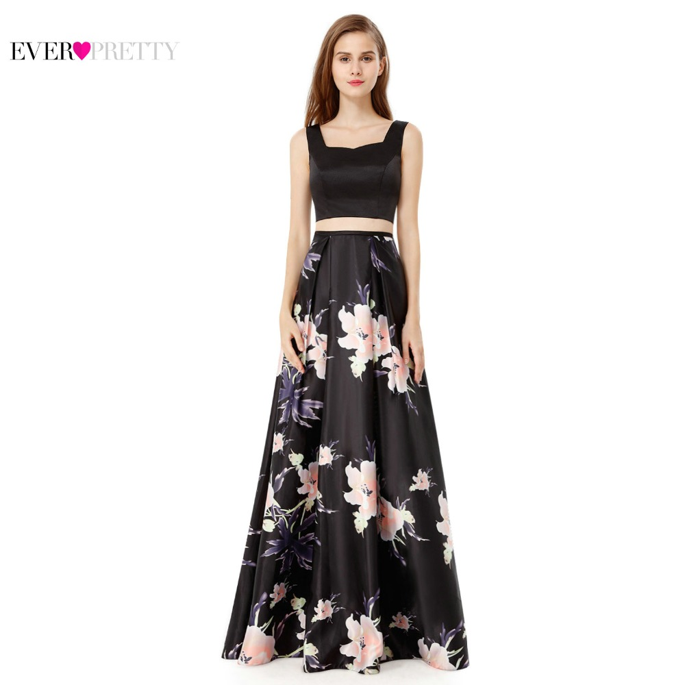 Evening Party Prom Dress Ever Pretty EP08962 New Arrival A Line Halter Sleeveless Women Sexy Long Unique Design Back Dress 2018