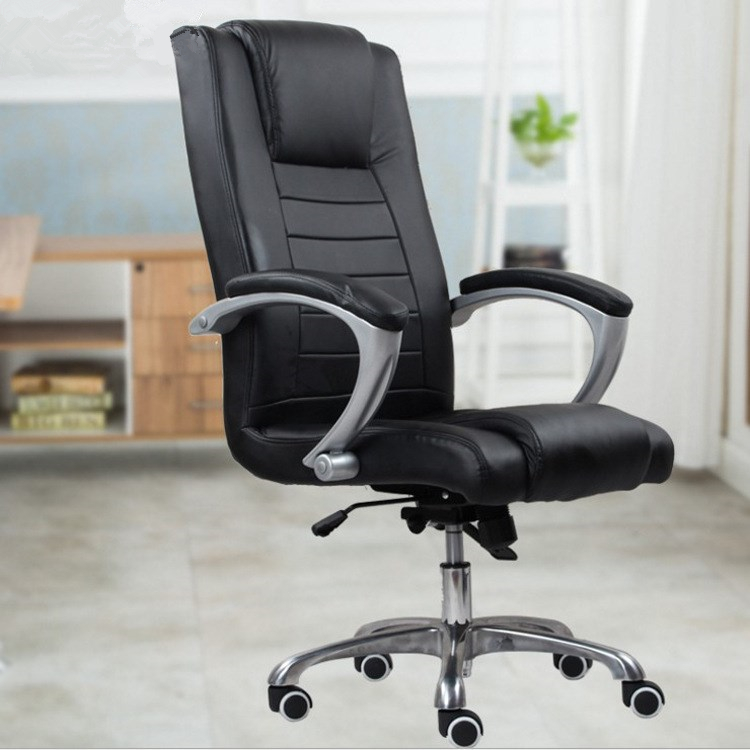 Simple Fashion Computer Office Chair Home Ergonomic Swivel Chair Heighten Backrest Leisure Lying Chair With Footrest Chair free shipping computer chair net cloth chair swivel chair home office