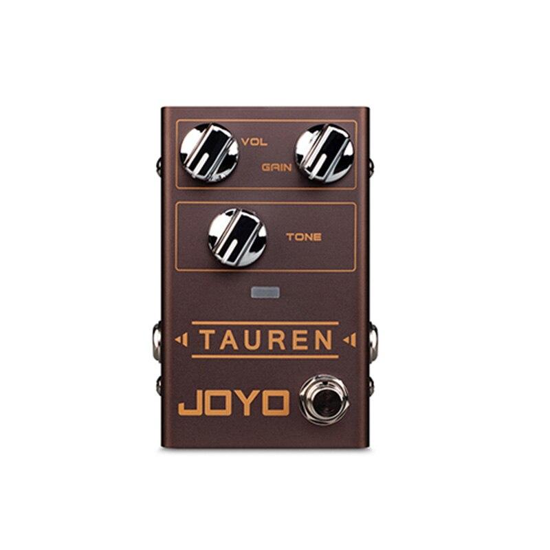 JOYO R-01 TAUREN Électrique Pédale Effet Guitare Overdrive Haute Faible Gain Distortion Surcharge Monobloc Effet Guitare Accessoires