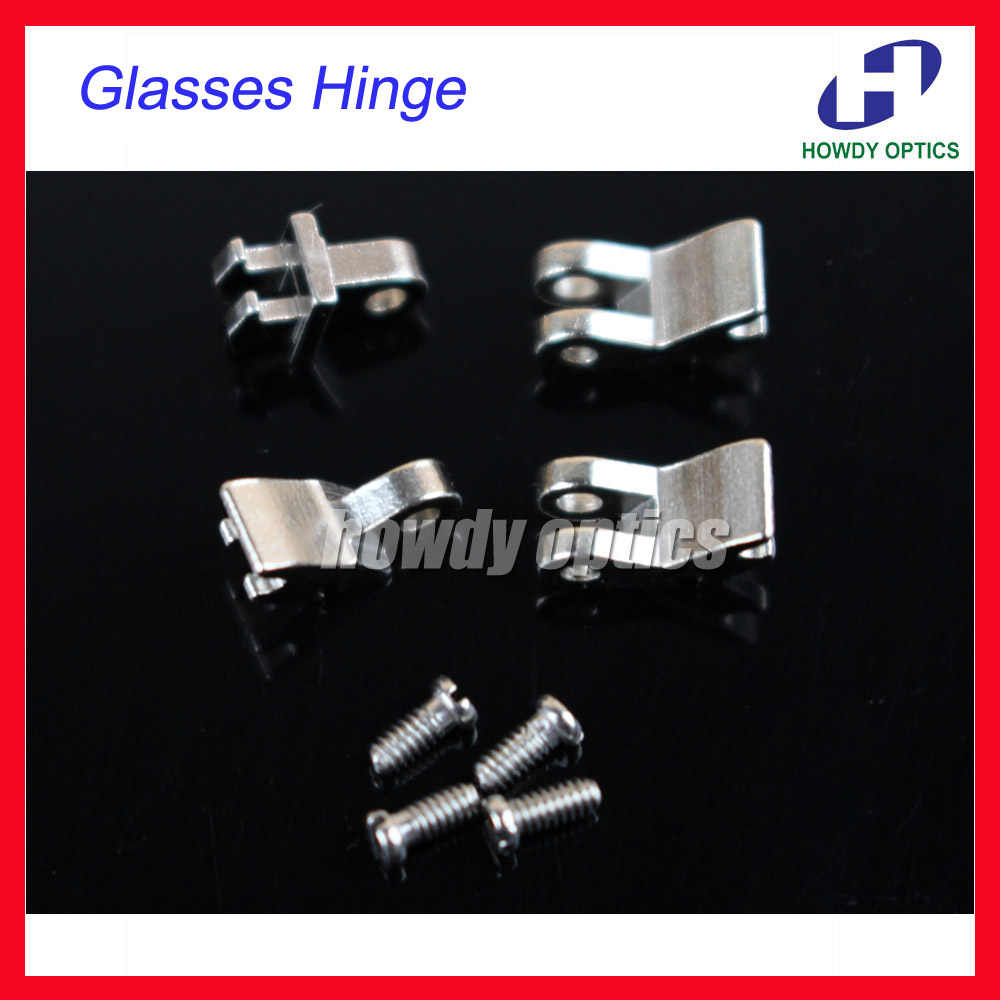 Free Shipping 50sets /lot Copper Eyewear Glasses Eyeglasses Hinge Screws For Plastic Glasses Repairing Optical Accessories
