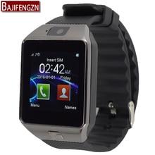 Soporte de Tarjeta SIM bluetooth reloj inteligente para android teléfono G1 hombres mujeres reloj deportivo Podómetro reloj inteligente PK GT08 A1 A9