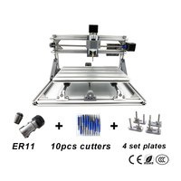 Disassembled pack DIY CNC 3018 PRO CNC engraving Pcb Milling Machine diy mini CNC with GRBL control