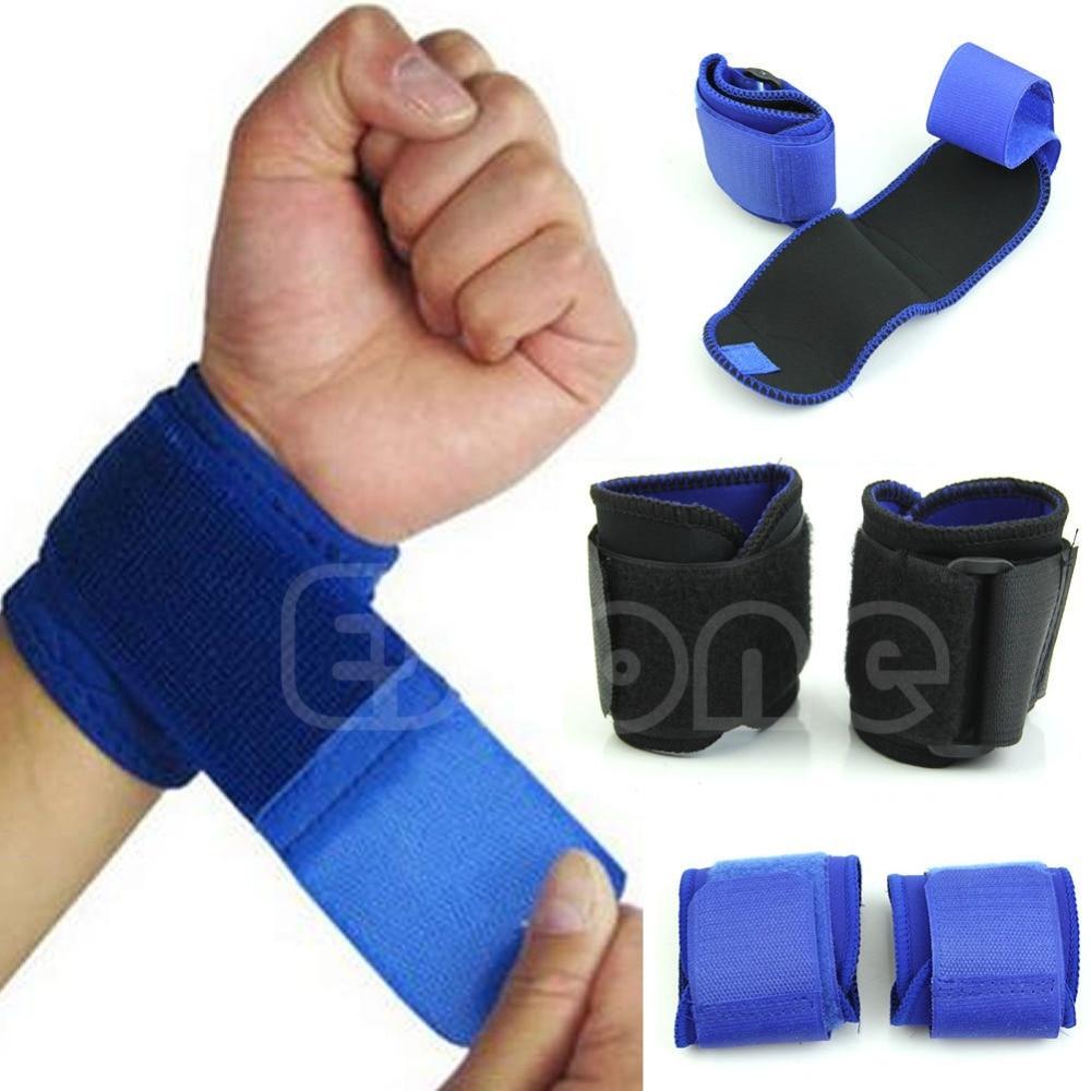 2017 New Adjustable Sports Wrist Brace Wrap Bandage Support Gym Strap Wristband
