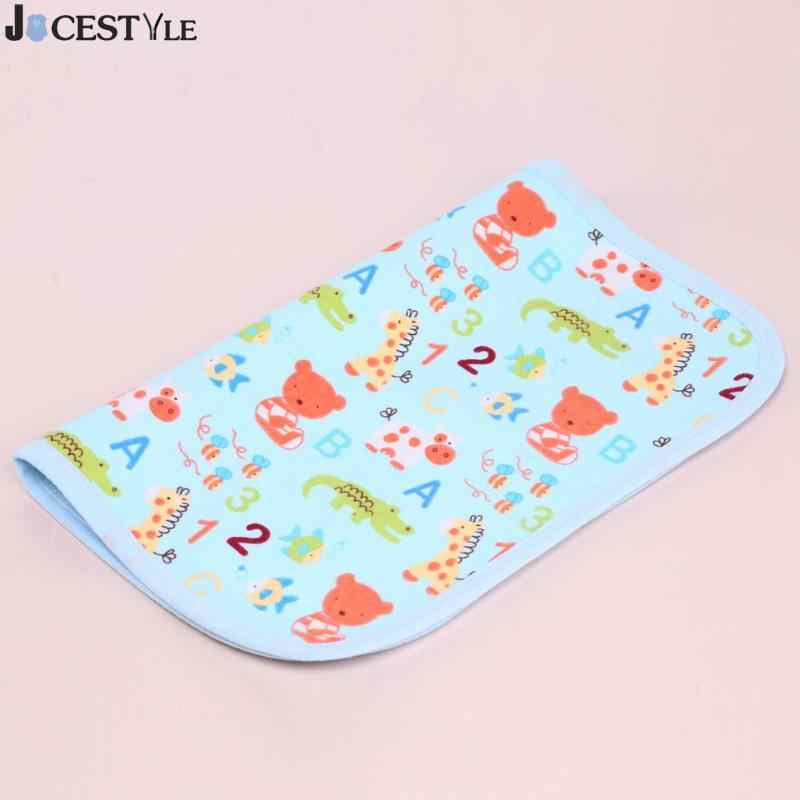 JOCESTYLE Baby Nappy Changing Pad Reusable Waterproof Nappy Kids Cotton Diapers Mat Stroller Bed Sheet Infant Change Mat Cover