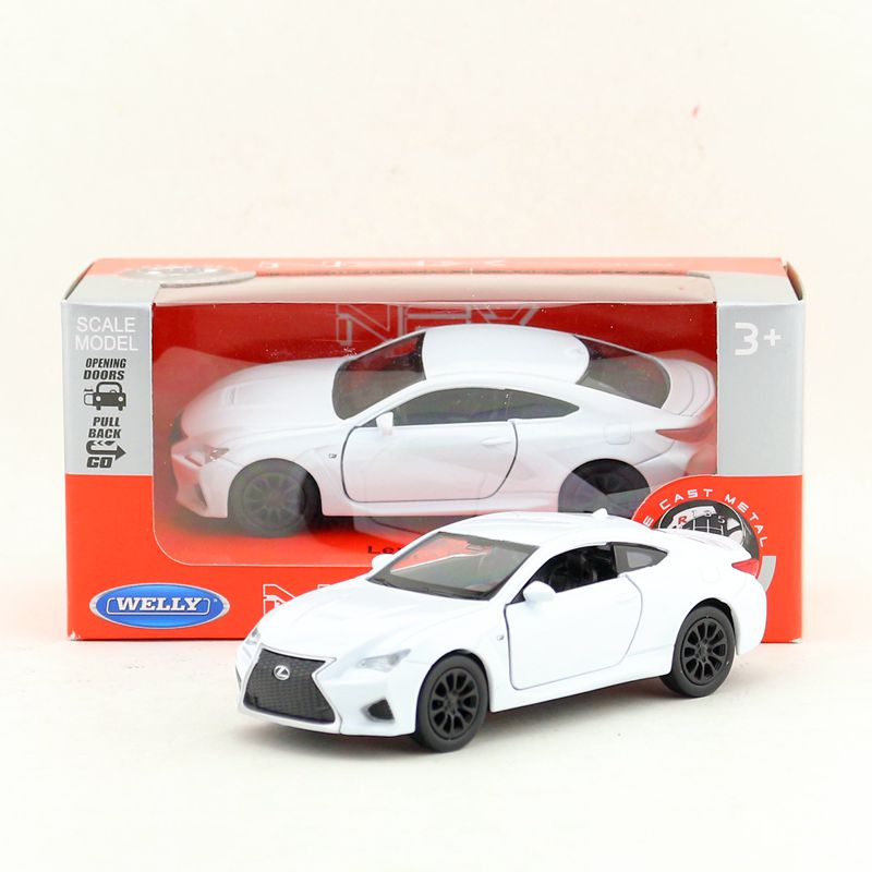1:36 Alloy Pull Back Car Models,high Simulation Lexus RC F ,original Package Metal Diecasts,toy Vehicles,free Shipping