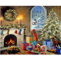 Diamond Mosaic Diy Diamond Painting Cross Stitch Resin Square Drill 5D Diamond Embroidery Home Decoration Christmas