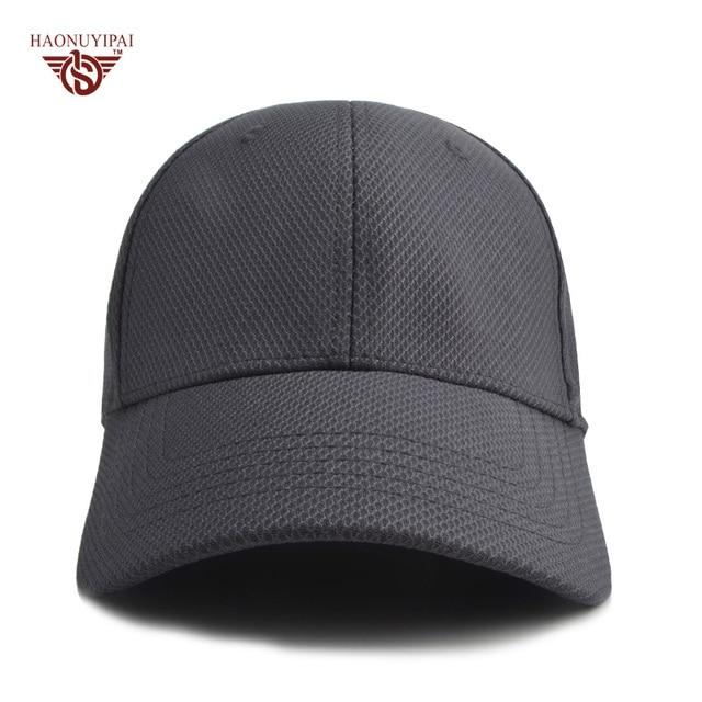 Personalizar LOGO Gorras de Béisbol Para Hombres de Las Mujeres de Color  Sólido transpirable Fijo gorra dc844a90cac
