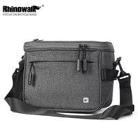 Rhinowalk Bike 4.5L Handlebar Bag Touch Screen Cellphone Front Frame Top Handles Bag Bicycle Waterproof Camera Bag Shoulder Bag