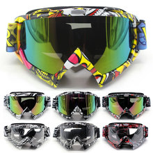 New Man/Women Motocross Goggles Glasses Cycling MX Off Road Helmets Goggles Sport Gafas For Motorcycle Dirt Bike Oculos Moto leshp vintage motocross goggles glasses cycling eye ware mx off road ski helmets goggles with adjustable elastic strap