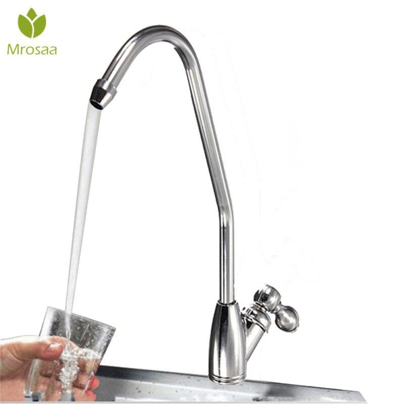 Mrosaa Küche Finish Trinkwasserfilter Waschbecken Wasserhahn Chrom ...