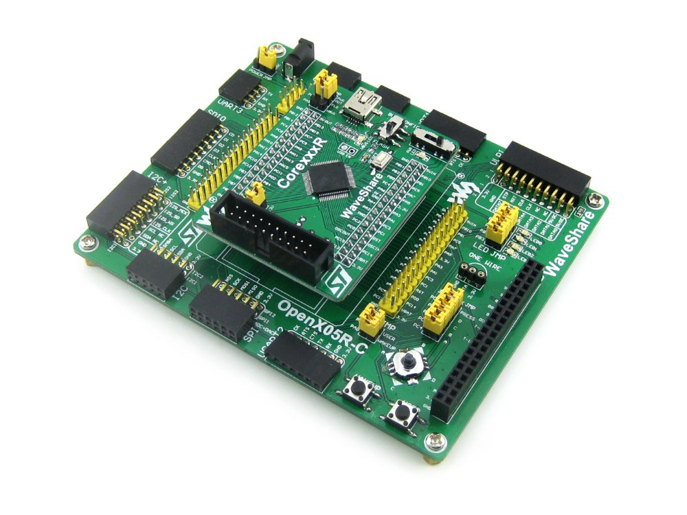 Open405R-C Standard # STM32F4 STM32F405 STM32 ARM Cortex-M4 Development Board STM32F407ZxT6 black plastic ads iar stm32 jtag interface jlink v8 debugger arm arm7 emulator cortex m4 m0