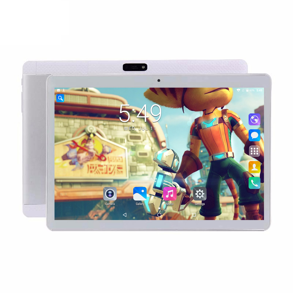 Play Store Android 7.0 OS 10 inch tablet Octa Core 4GB RAM 32GB ROM 1280*800 IPS 3G Phone Call Kids Gift Tablets 10 10.1 free shipping 10 inch tablet pc 3g phone call octa core 4gb ram 32gb rom dual sim android tablet gps 1280 800 ips tablets 10 1