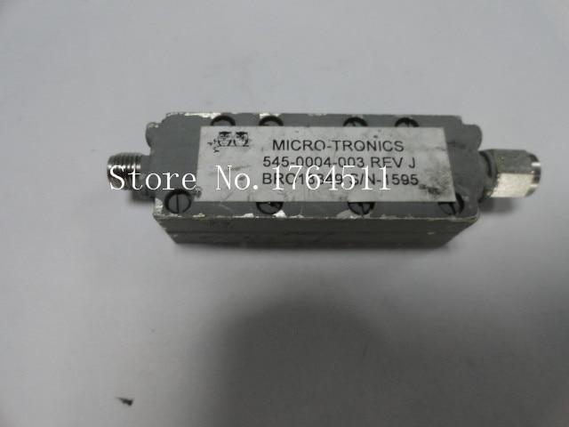 [BELLA] MICRO-TRONICS 545-0004-003 DC-9.5GHZ RF Bandpass Filter SMA (F-M)
