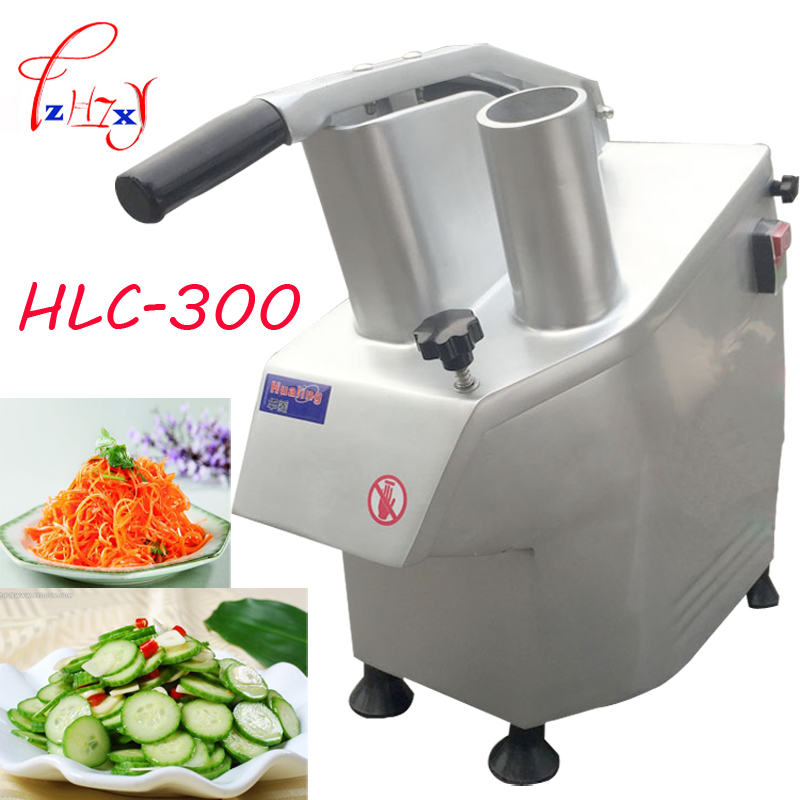 220V 550w HLC-300 Automatic vegetable cutting machine vegetable cutter, shredders, Cutter leafy greens 150kg / h