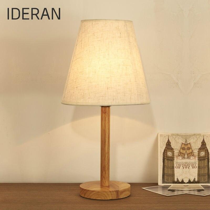 ФОТО Characteristics  table lamp creative fashion retro design original wooden  lamp shade of contemporary shade lamp children's room
