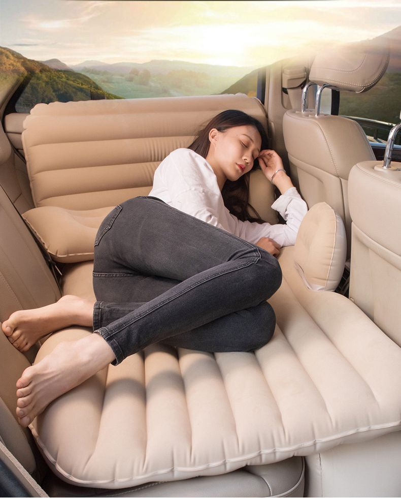 Car Back Seat Cover Air Mattress Travel Bed Inflatable Mattress Good Quality Camping Packing Bag 2019 Novelty & Special Use Item