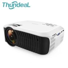 ThundeaL T22L LED Mini Projecteur 2000 Lumens Vidéo Multimédia Beamer T22 pour Home Cinéma Film de projection avec HDMI VGA USB SD