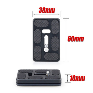 Image 5 - INNOREL B44/B36/B32 Aluminum Alloy Panoramic Camera Tripod Head Max Load 15/12/8kg with Quick Release Plate for Telephoto Lens