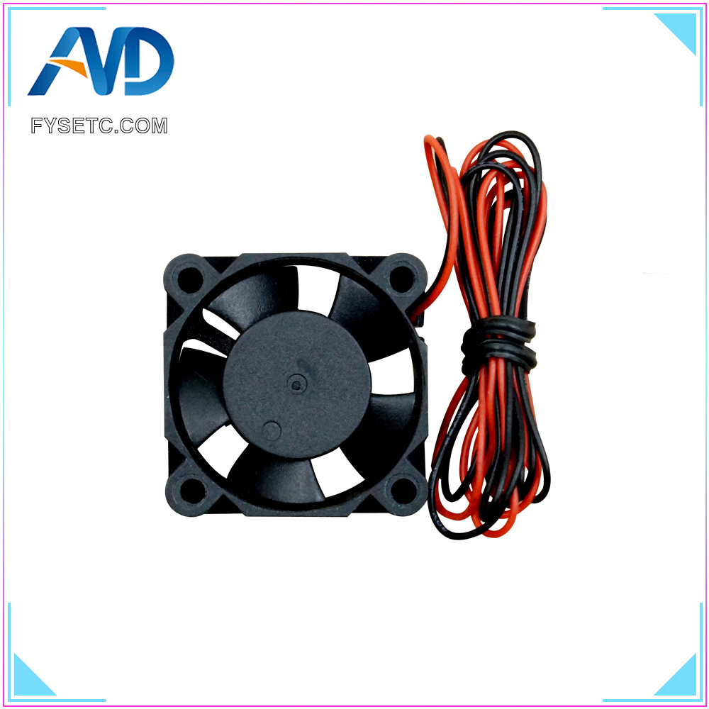 DC Brushless Blower Electric Cooling Fan 2PCS Wendry Cooling Fan 3D Printer Cool Fan Assembly Part High-Speed Cooling Fan 12V