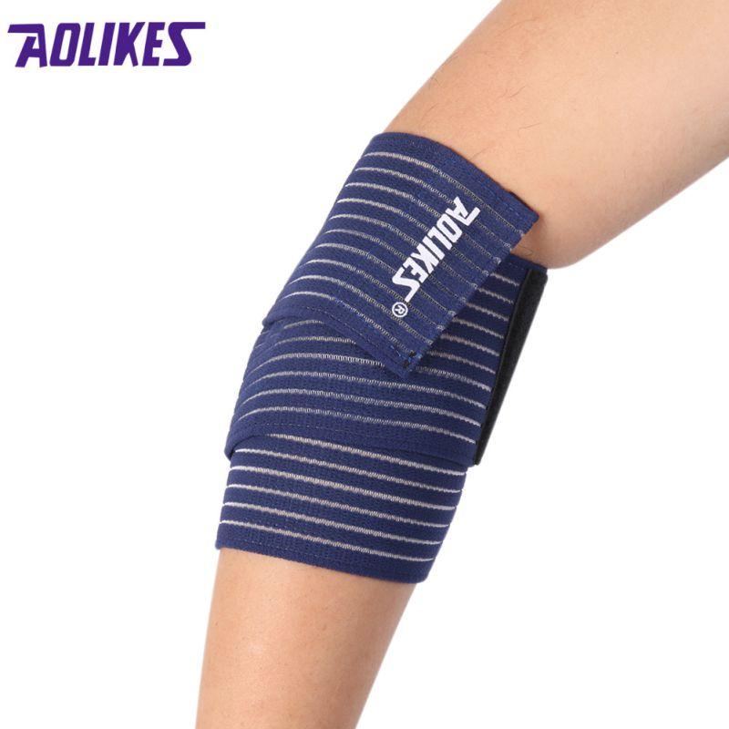 New Arrival Pad Length 70CM 7 Colors Belt Elastic Sports Bandage Wrist Knee Support Protection Wrap Brace Band Bandage Elbow