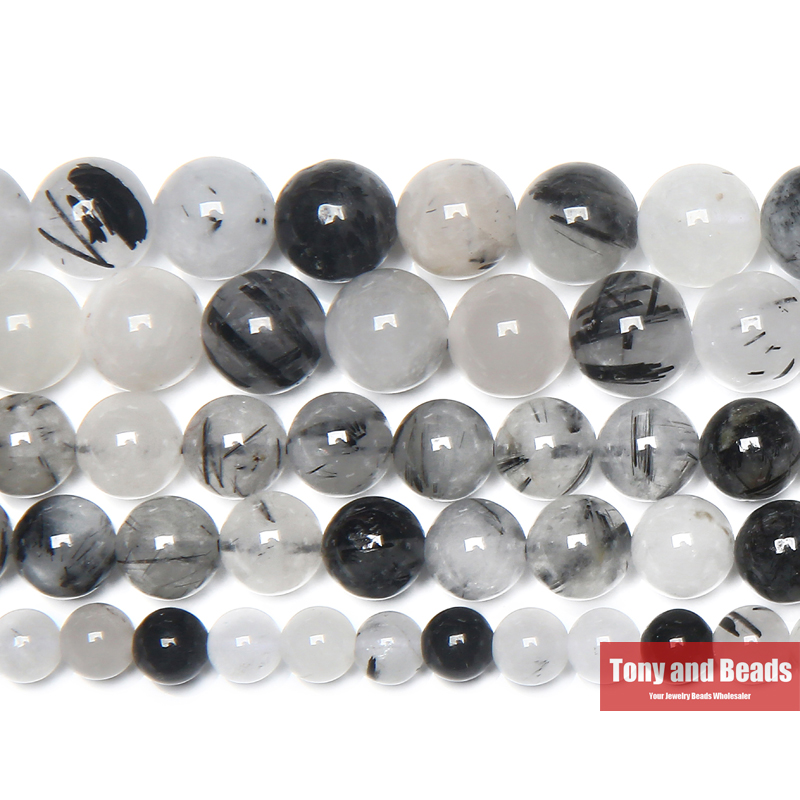 Black Crystal Gray Grey Chinese Crystal Faceted Round Glass Bead 8mm Q2 Strands