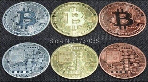 Биткоины сувенирные монеты золотые серебро биметаллические монеты выпуск 2013