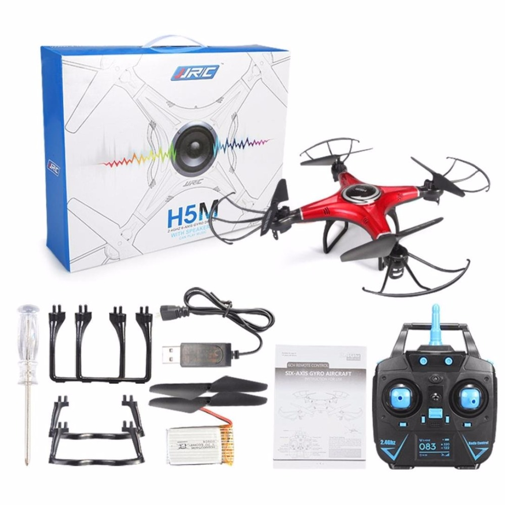 JJRC H5M 6 Channel 2 4G 6 Axis Gyro Mini Drone 3D Rotation Music Playing Quadcopter