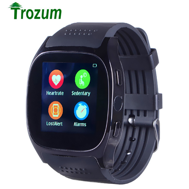 Smart Watch T8M Support Heart Rate Tracker Passometer Bluetooth Smartwatch With Camera Men Women Watch For Android PHONE hot
