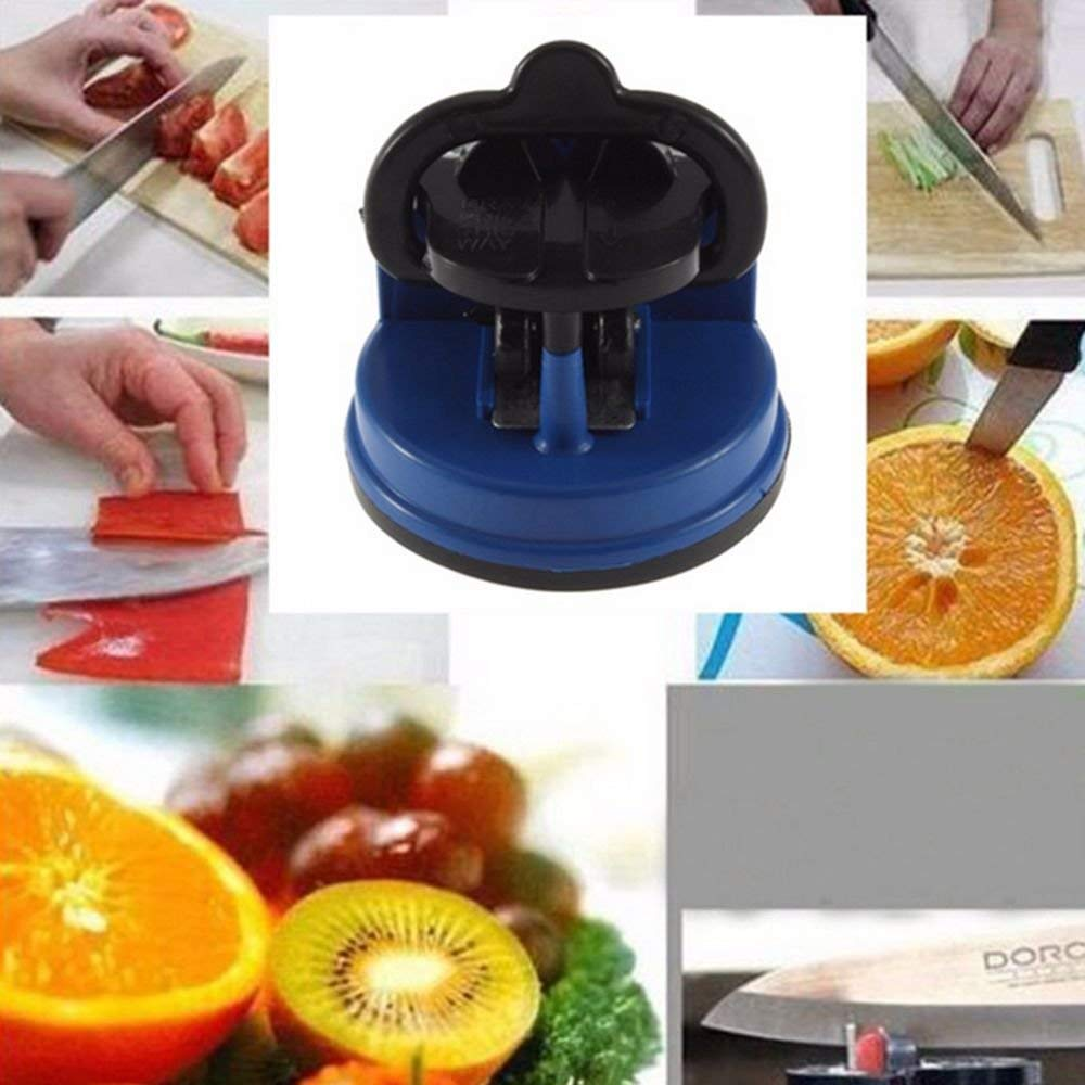 NUOTEN Brand Tungsten Steel Knife Sharpener, Suction Pad Design,Full body Polished,Excellent Quality kitchen sharpening tool 6